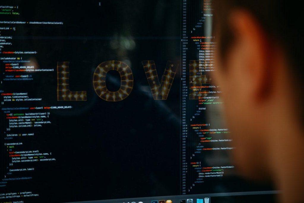 developer on Valentine's day